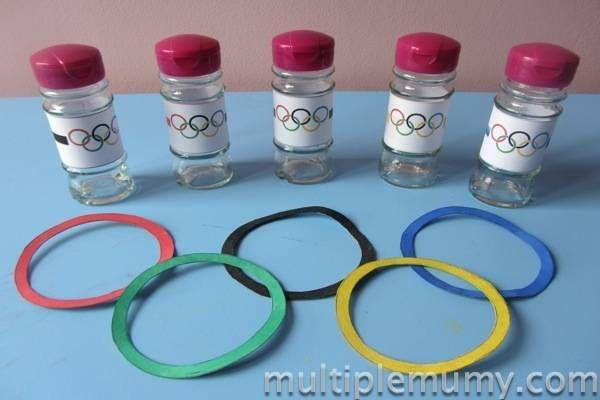 Un jeu d'anneaux olympiques | La cabane à idées