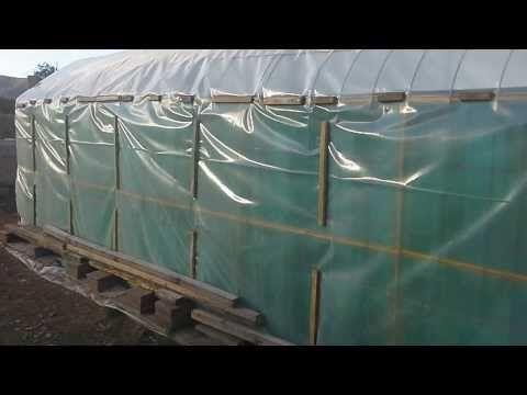 Construccion de invernadero casero - YouTube