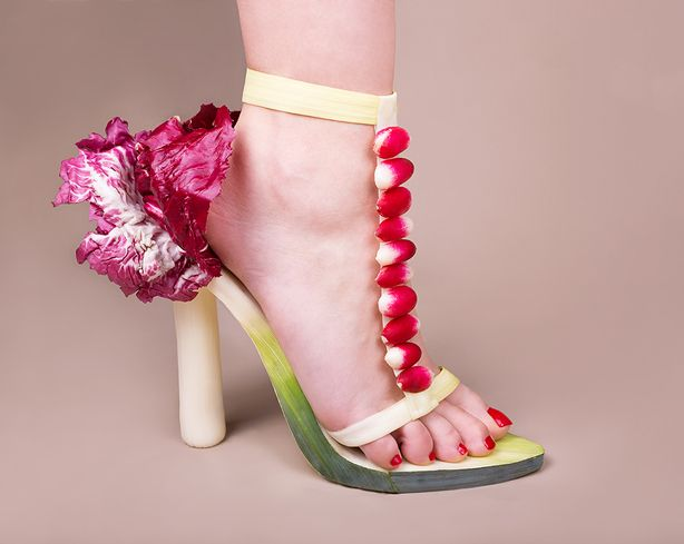 The Sole of Horticouture: Fashion Forward Vegetables and Flowers