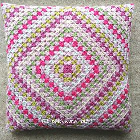 The Patchwork Heart: Wrap Around Cushion Cover Tutorial