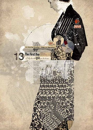 Alone / Missing by Alexander Cano #digital #collage http://www.alexcano.com/