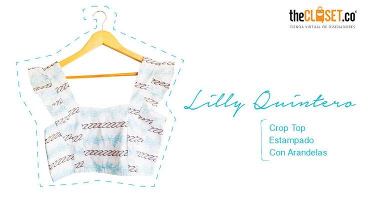Buscando ropa de mujer? Hoy te recomendamos los #croptop de la marca Lilly Quintero Brand en nuestra tienda online #DiseñoIndependiente #RedDeDiseñadores