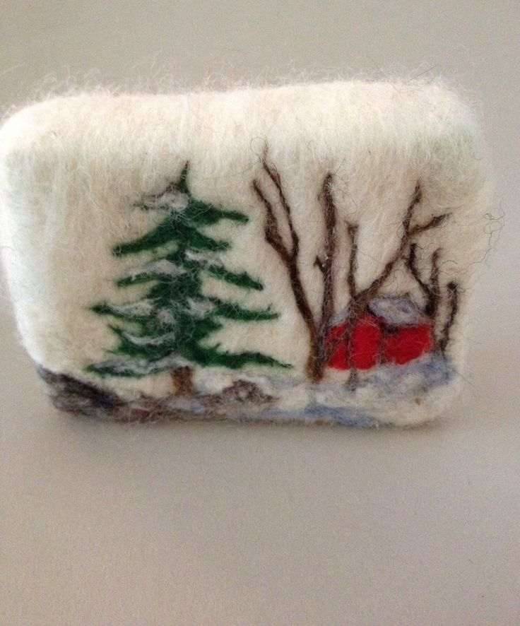 Red Barn Felted Soap Series. Mangofleursoap.com                                                                                                                                                                                 More