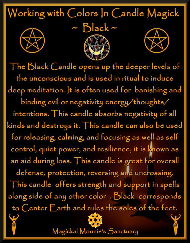 Magickal Moonie's Sanctuary  Black Candle Magick!      Magickal Moonie  Yvonne )O(