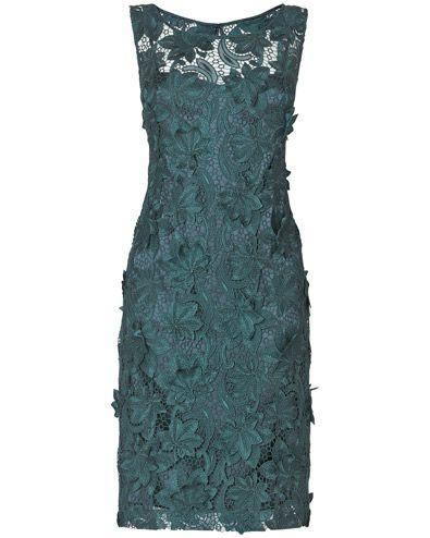 Aurelia Metallic 3D Lace Dress Phase Eight sale £150