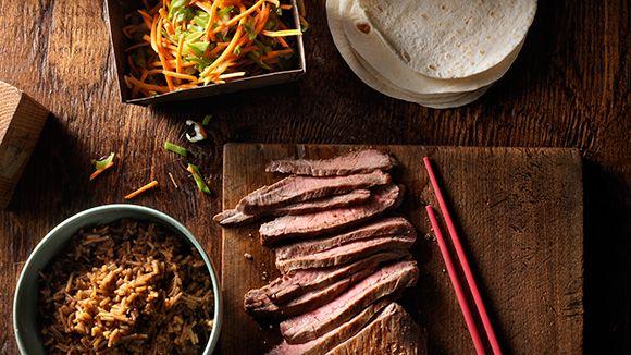 Tacos+coréens+au+bœuf+BBQ