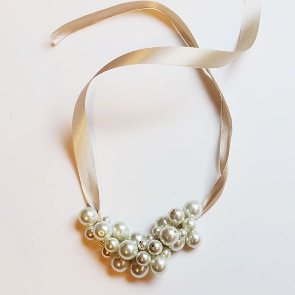 Make Your Own Necklaces And Jewelry At Home: Make Your Own Pearl Cluster Necklace