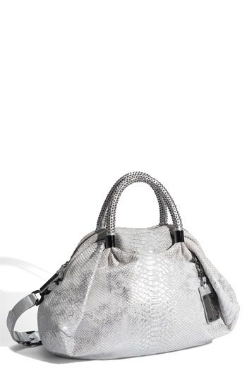 Kenneth Cole New York 'No Slouch' Leather Satchel: Cool as ice. On sale $218.90 #Handbag #Kenneth_Cole