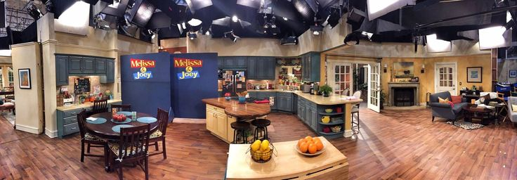 "Fiesta® dinnerware on the set of television show ""Melissa & Joey"" 