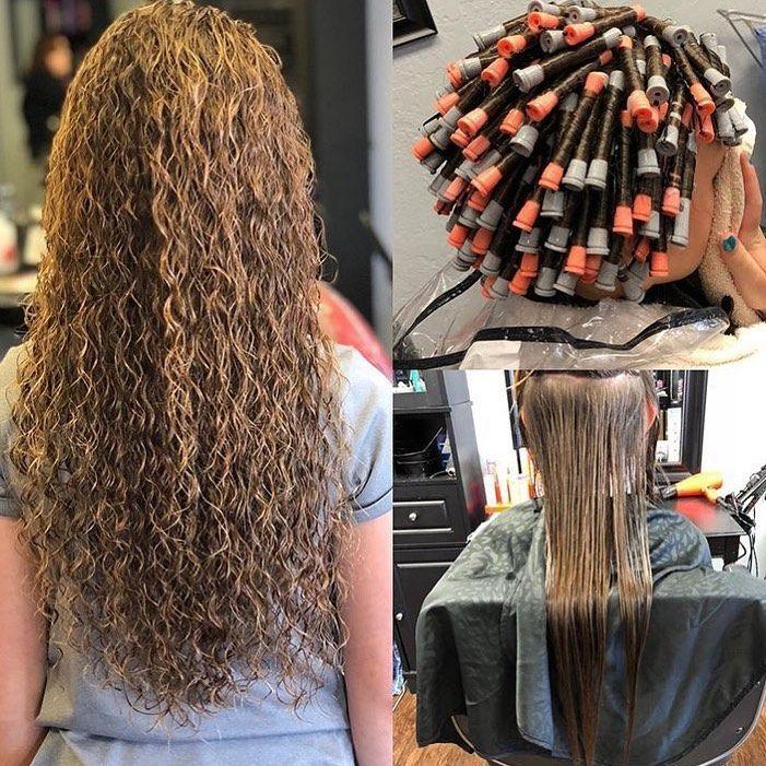 Ramenez la Perm sur Instagram: «Belle permanente de @ tailerbenson.hair 😍😍. . . #perm # ...