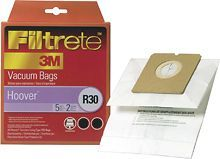3M - Filtrete Hoover R30+ Bag and Filter Combo Pack for Select Hoover Vacuums
