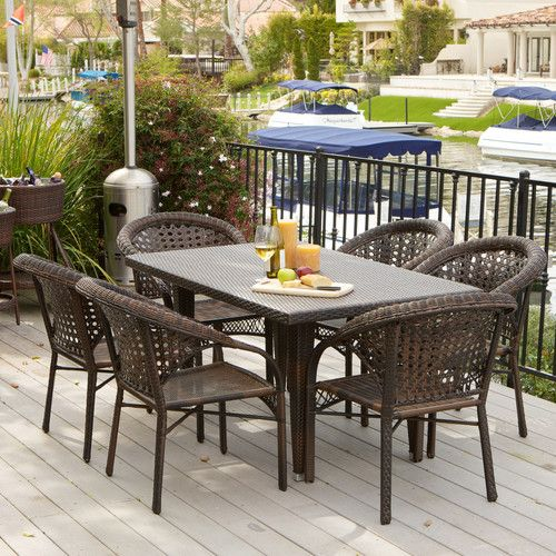 Found it at Wayfair - Norwich 7 Piece Outdoor Dining Set