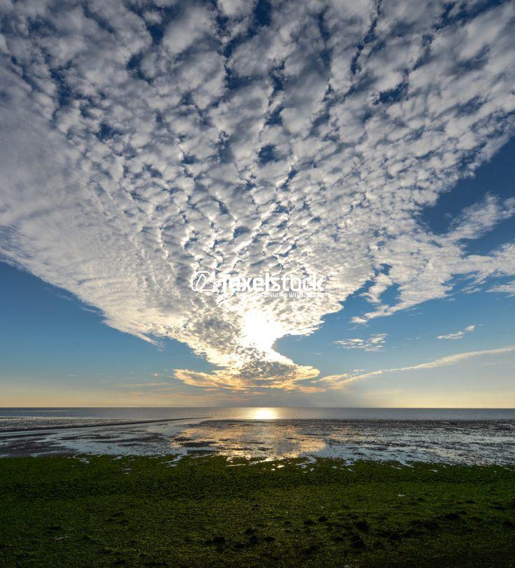 Waddenzee, zonsopkomst. – TexelStock.nl – Photo/Foto