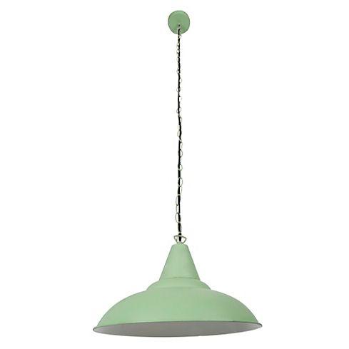Lampara Colgante Verde Provenzal 1 Luz Lamparas Colgantes Focos