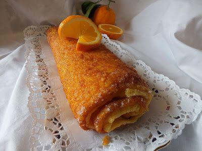 A cozinha do Titó: Torta de laranja