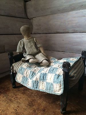 http://www.ebay.com/itm/Early-Primitive-Childs-Childrens-Doll-Rope-Bed-With-Early-Tick-Feather-Mattress-/222419976786?hash=item33c9438252:g:7EwAAOSw3v5Yr1L2
