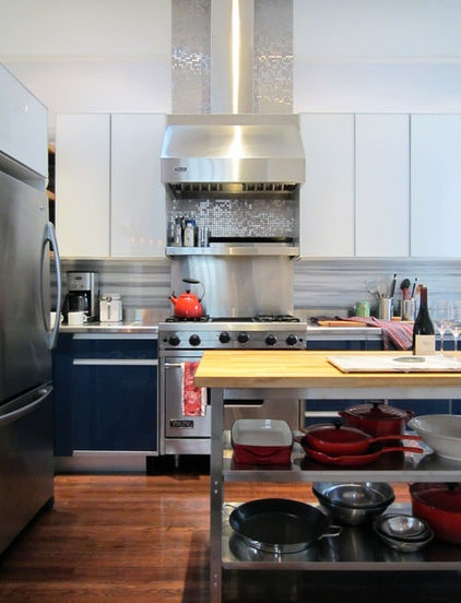 Eclectic Kitchen By Michael Goodsmith Design
