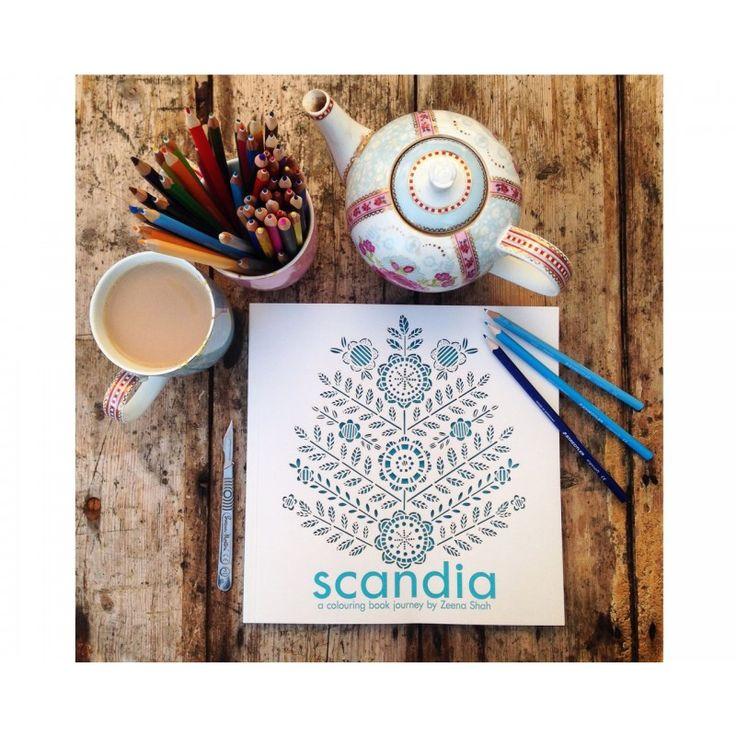 Scandia - Colouring Book