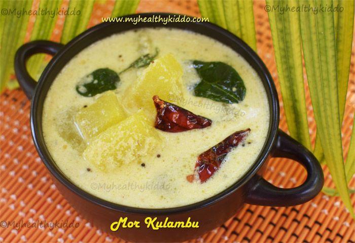 Mor Kulambu Kulambu Recipe Recipes Food