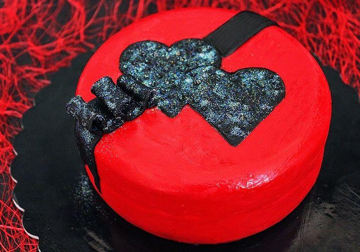 Cozinhadaduxa: Um Bolo para Celebrar o Dia de São Valentim