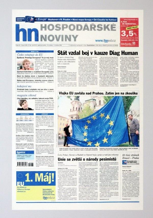 30.4.2004 - Česko vstupuje do EU