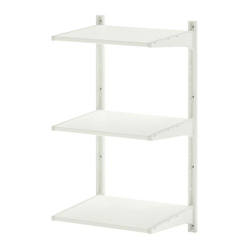 ALGOT Wall upright/shelves IKEA The parts in the ALGOT series can be combined in many different ways and so can easily be adapted to needs a...
