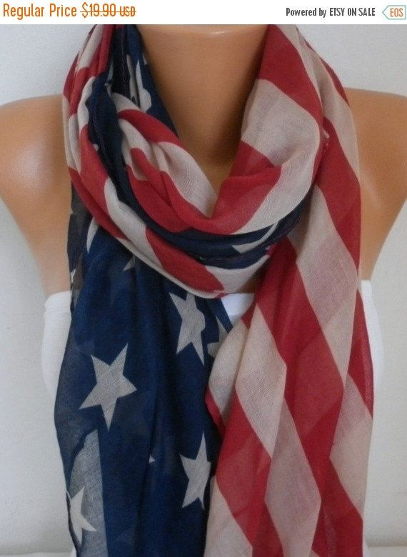 Hey, I found this really awesome Etsy listing at https://www.etsy.com/listing/97937407/american-flag-scarf-american-scarf