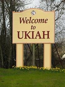 Ukiah California - been there done that! Memories