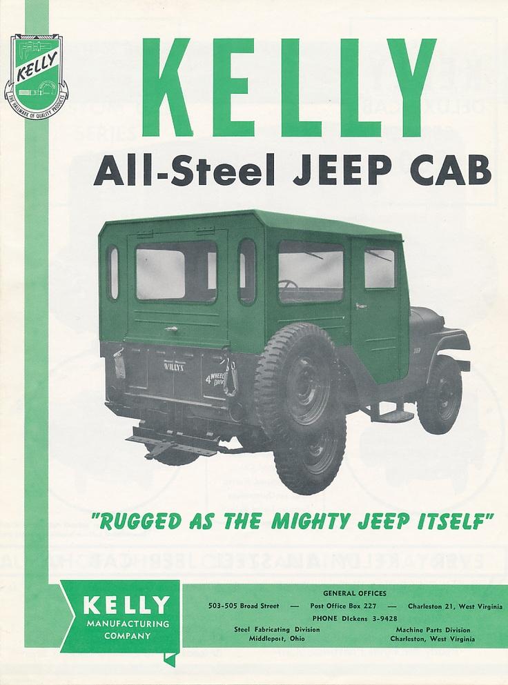 Kelly Jeep Cab US Classic Car Brochures Pics & Ads