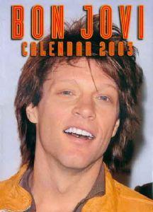 Bon Jovi - 2003 Calendar