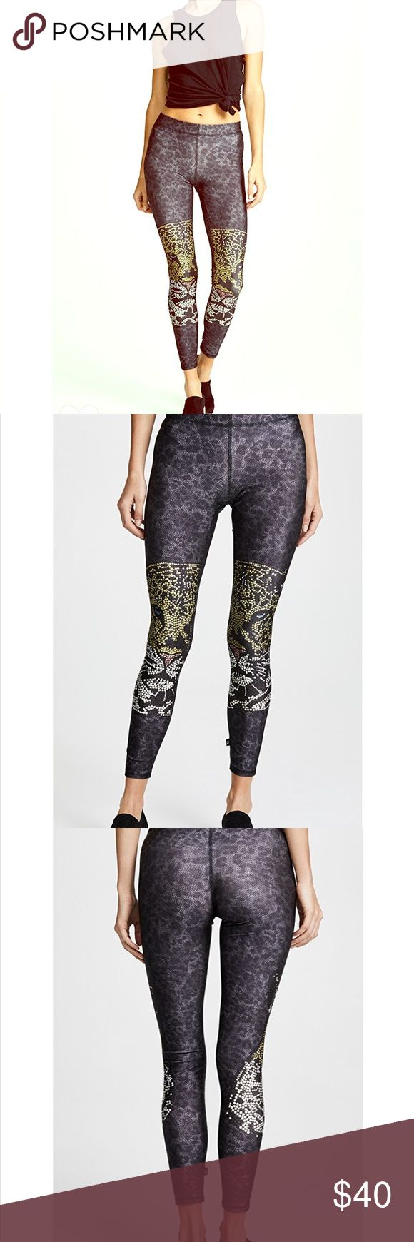 Terez leopard leggings Excellent condition- only worn once.  Size xs Terez leopard leggings. Currently on Shopbop for $78. Please no trades & only reasonable offers considered. Thank you! Terez Pants Leggings