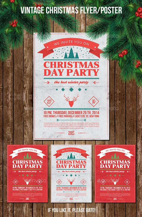 Best Poster Template Design Images On   Flyer