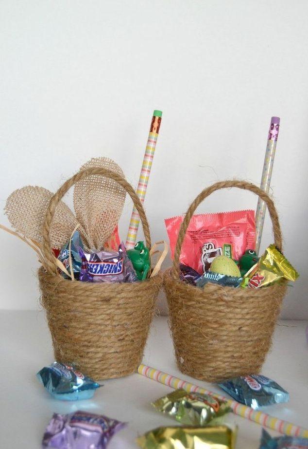 10 best easter gift ideas images on pinterest easter gift easter diy mini easter baskets negle Choice Image