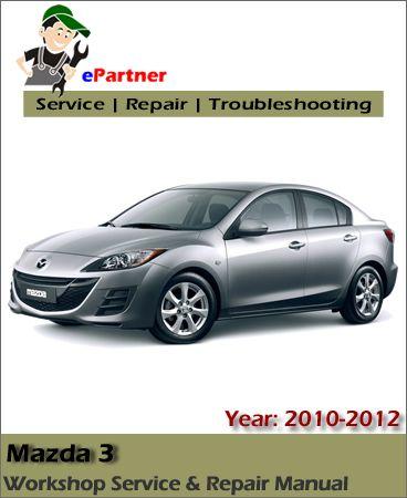 mazda 3 2010 manual pdf