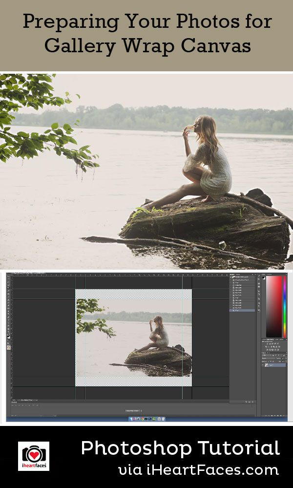 Preparing Your Photos for Canvas #photography #iheartfaces #canvas #prints #tutorial