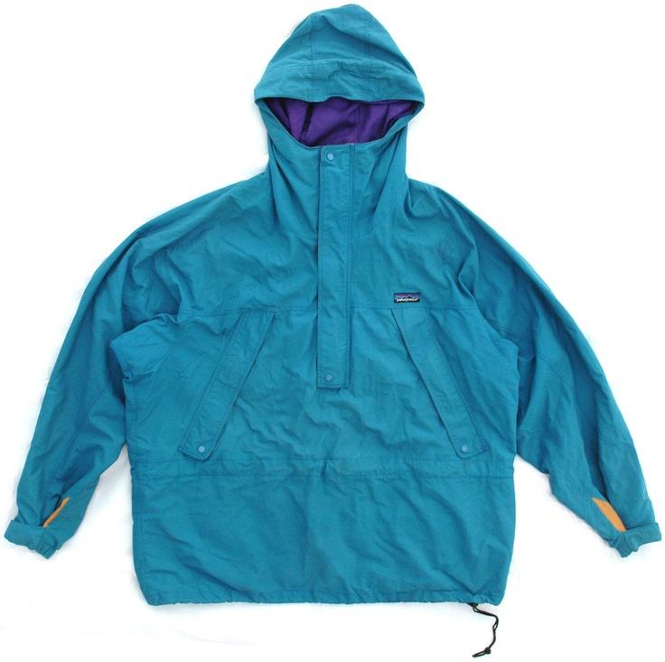 Image of Vintage Teal Patagonia Pullover Jacket Size XL
