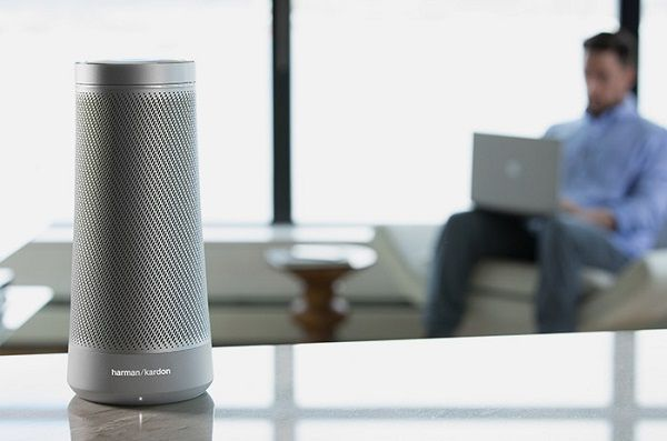 Harman Kardon announces voice-activated Invoke speaker with Microsoft's Cortana digital assistant - Price Availability. #Drones #Gadgets #Gizmos #PowerBanks #Smartpens #Smartwatches #VR #Wearables @MyWindowsEden  #MyWindowsEden