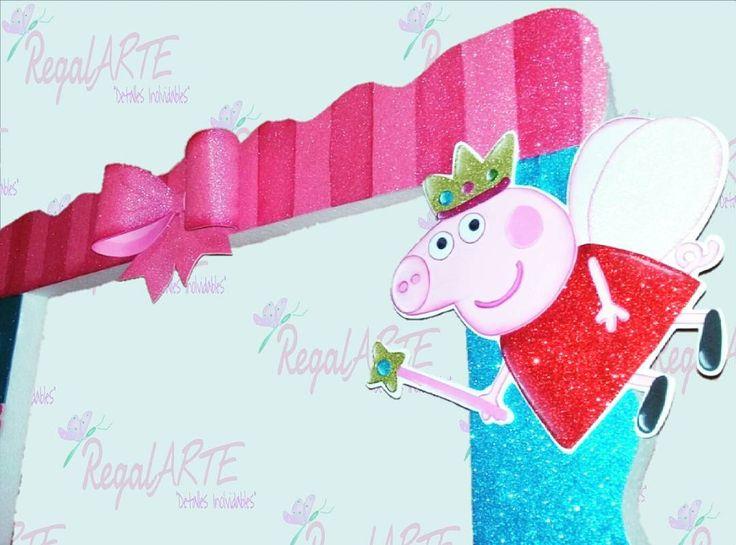 """10 Me gusta, 1 comentarios - RegalArte DetallesInolvidables (@regalartedi) en Instagram: """"Preparativos para la fiesta tematica de #peppapig #marcogigante #fiestainfantil  #manualidades…"""""""