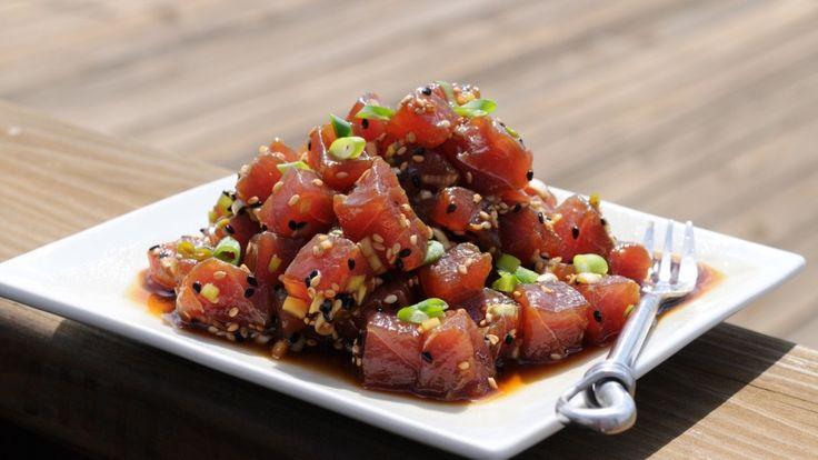 Tuna Poke {tuna salad}