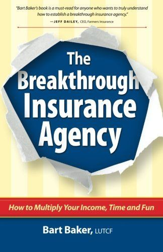 You're in the insurance business, and you're searching for a breakthrough. Maybe you're a new agent and feel overwhelmed by the task ahead of you. Or maybe you've already been in the business for several years, and you're doing pretty well, but you've hit a plateau. Whatever the case, you're look... more details available at https://insurance-books.bestselleroutlets.com/business/product-review-for-the-breakthrough-insurance-agency-how-to-multiply-your-income-tim