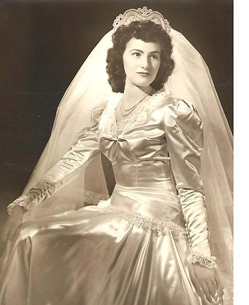 166 Best 1940's Weddings Images On Pinterest