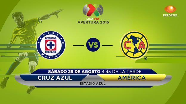Cruz Azul vs América, clásico joven del A2015 ¡En vivo por internet! - http://webadictos.com/2015/08/29/cruz-azul-vs-america-clasico-a-2015/?utm_source=PN&utm_medium=Pinterest&utm_campaign=PN%2Bposts