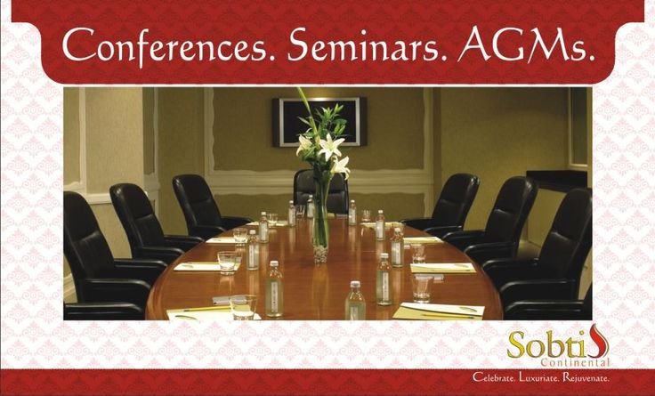 Sobti Continental offers you astutely-planed meetings and conference facilities with state-of-the-art support system as per your customized requirements, buzzing with the beats of your gala celebrations. www.sobticontinental.com/rudrapur/Rates-Reservation.php