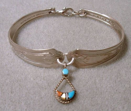Spoon bracelet with instructions!