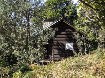 Rangers' hut in the bush - Otford to Figure 8 Pools Circuit, Royal National Park