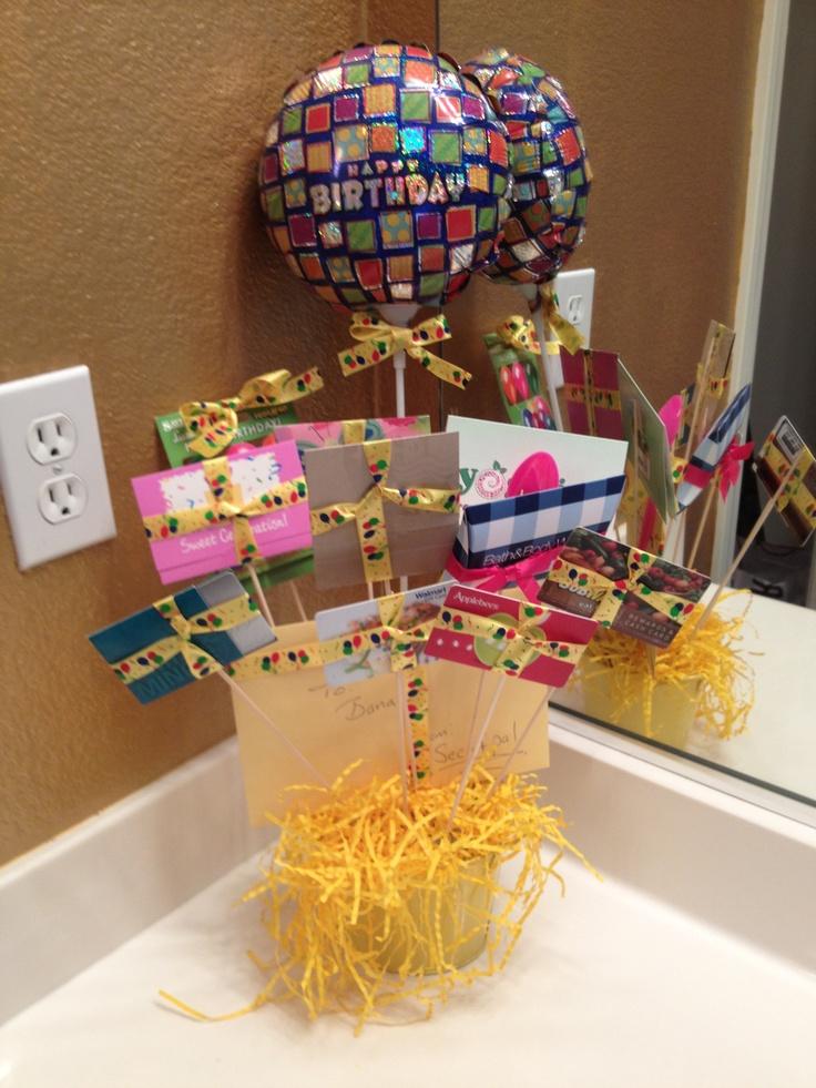 Gift card bouquet for my secret pal | My Idea's | Secret ...