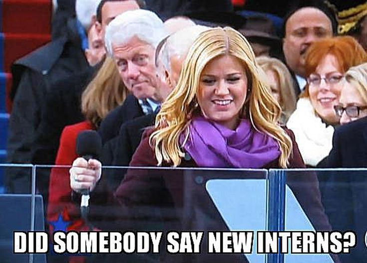 Funniest Bill Clinton Memes: Did Somebody Say New Interns?