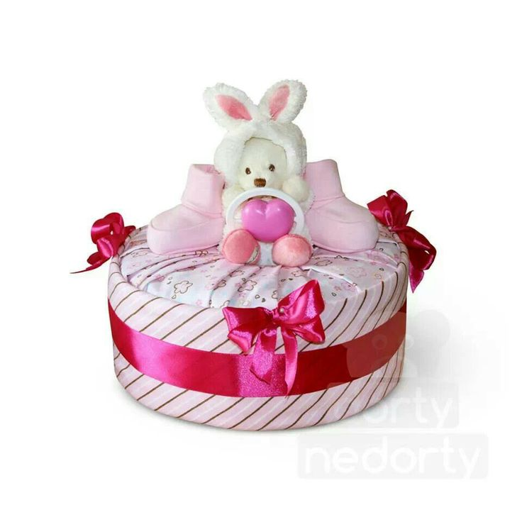 Collection S pink (nappy cake)