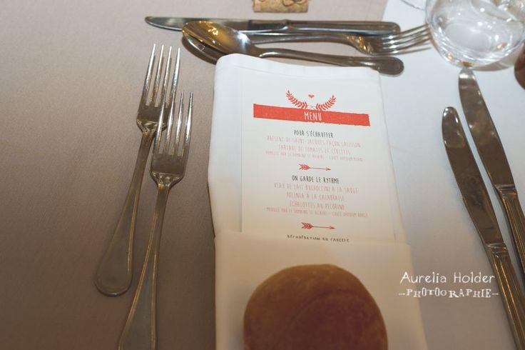 #menu #mariage