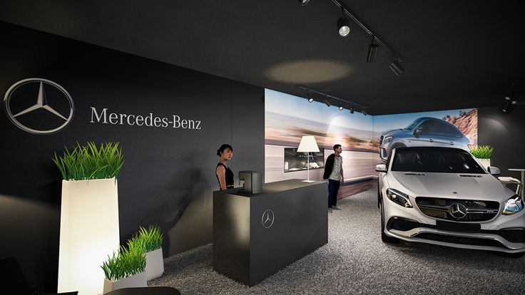Mercedes benz amg pop up store knokke summer 2015 on for Mercedes benz shop